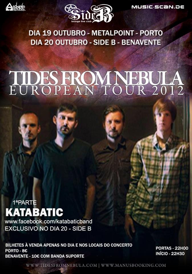 Report: TIDES FROM NEBULA + KATABATIC – Side B, Benavente